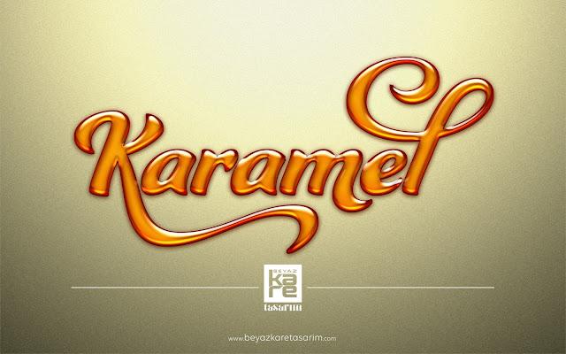 3D logo tasarımı ürün marka şeker