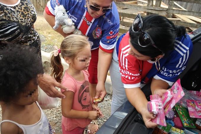 Onze Solidário realiza doações de Natal em Cachoeirinha
