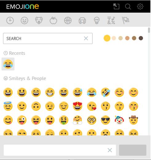 تحميل اضافة الابتسمات لمتصفح جوجل كروم Emoji Keyboard