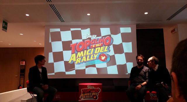 Conferenza stampa Topolino e gli amici del rally