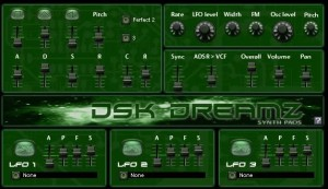 DSK DreamZ - Plugin VST Synth Pads