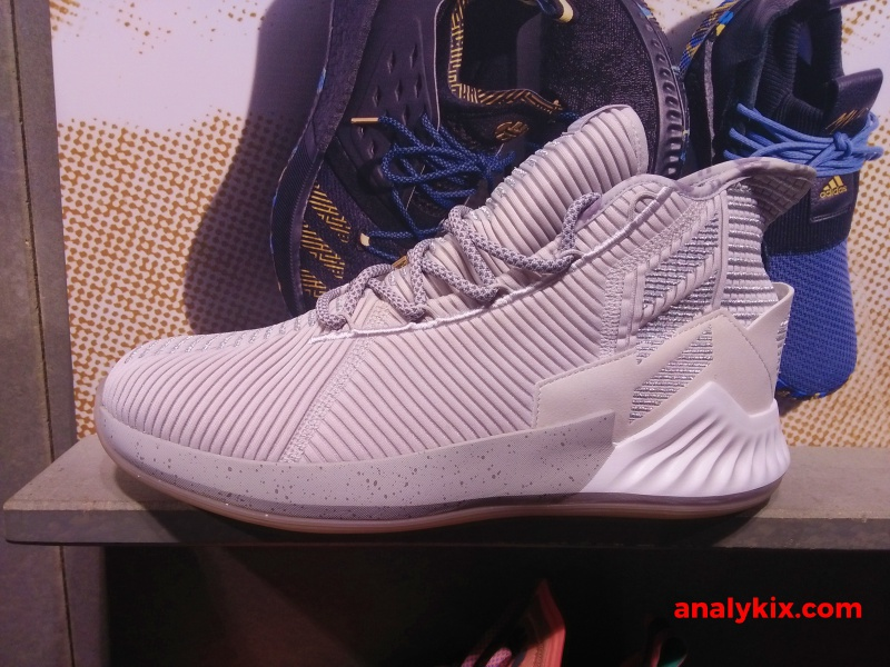 d984d6a78fe2 adidas DRose 9  10th Anniversary  in grey