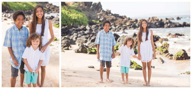 Maui Family Beach Portrait
