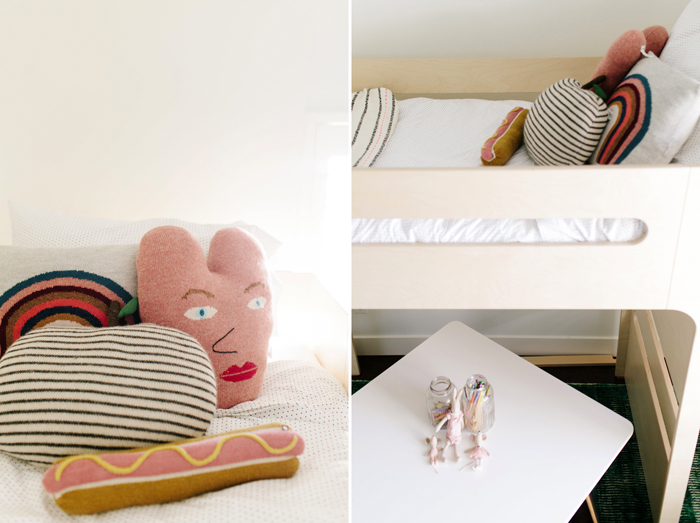 Sloane's modern room with Rafa-kids F bunk bed