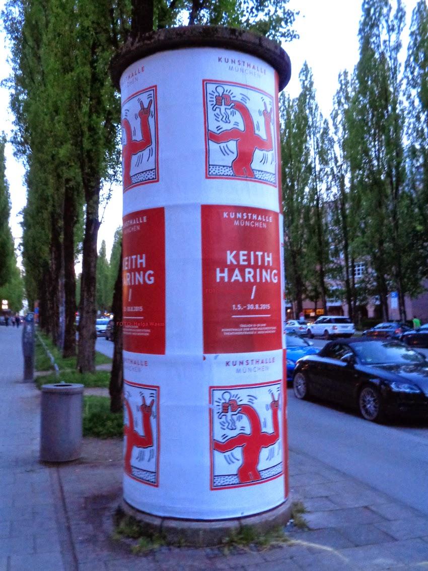 Kunst Kultur Blog Aus München Keith Haring Kunsthalle München