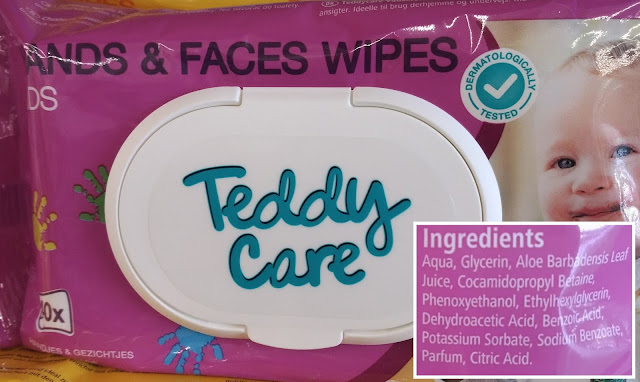 lingettes teddycare - unpeuplusgreen