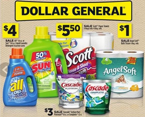 Dollar General Deals Angel Soft Toilet Paper 45 Cents Per