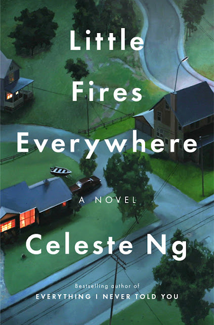 Penguin Press Book Cover for Little Fires Everywhere by Celeste Ng