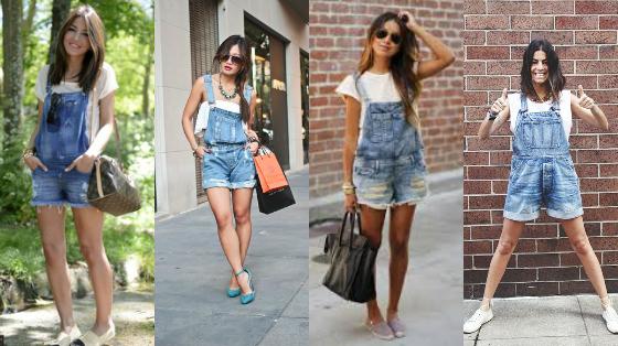 jardineira jeans verao