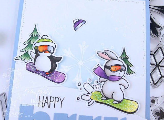 Heather's Hobbie Haven - Ready, Set, Snow Card Kit