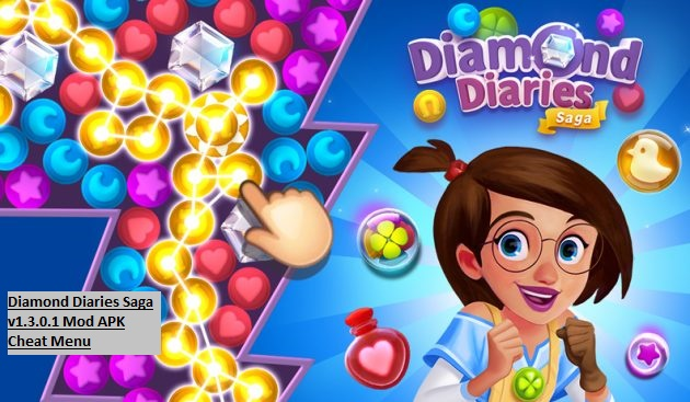 Diamond Diaries Saga v1.3.0.1 Mod APK Cheat Menu