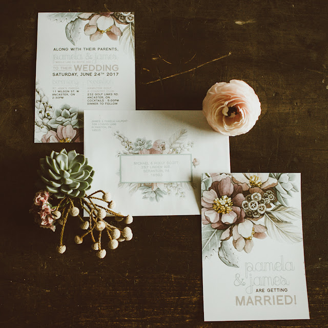 pretty bohemian wedding decor inspiration | custom stationery and jewellery