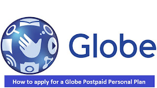 How to apply for a Globe Postpaid Personal Plan