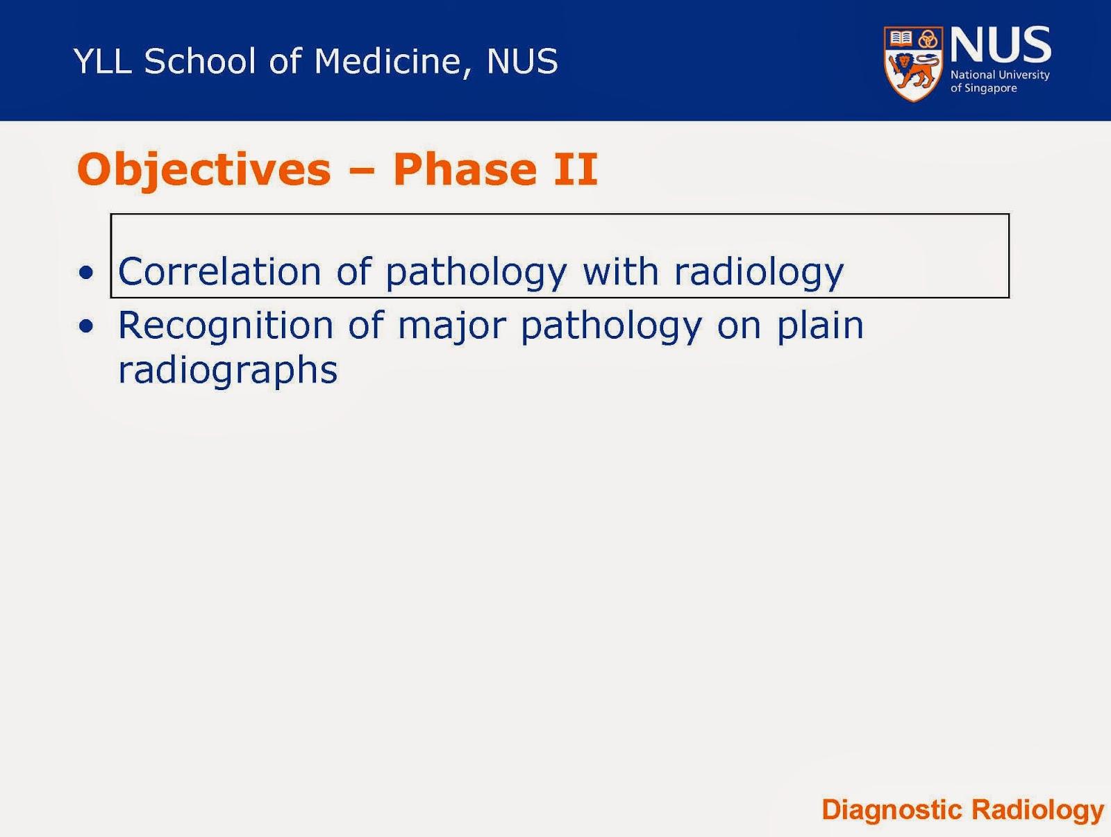 National University Hospital Singapore Radiology Fellowship