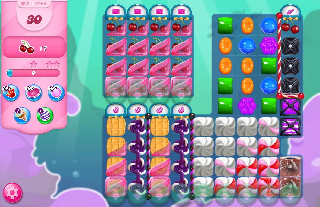 Candy Crush Saga level 7955