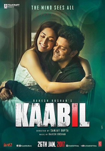 Kaabil 2017 Hindi Full Movie DVDScr XviD 700MB
