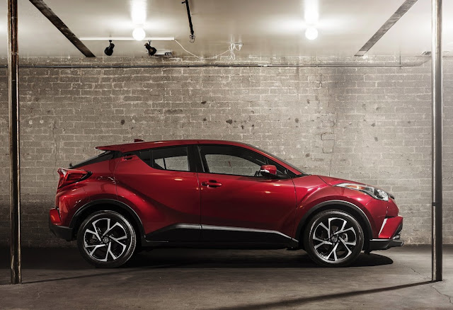 2018 Toyota CHR Red