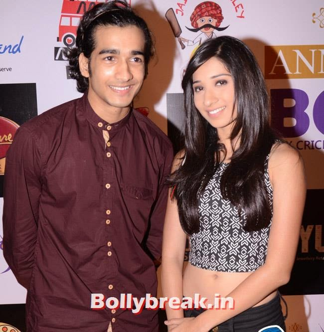Shantanu Maheshwari and Vrushika Mehta, Box Cricket League Success Party - Tv Babes as Guests