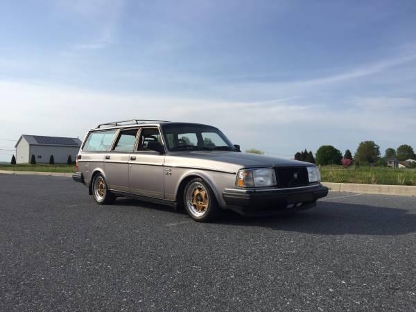 1991 VOLVO 240 WAGON - Like 122 244 245 740 v40 v70 vw bug ...   1991 Volvo 240 Wagon