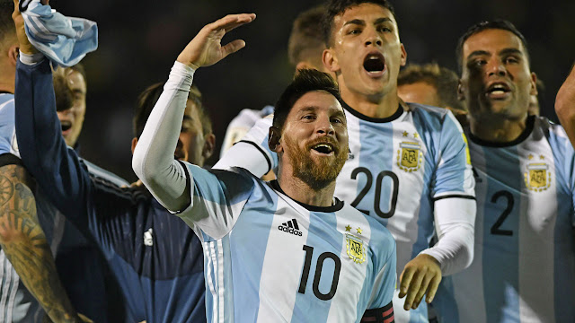 Messi treble fires Argentina to World Cup as Chile go out (DETAILS)