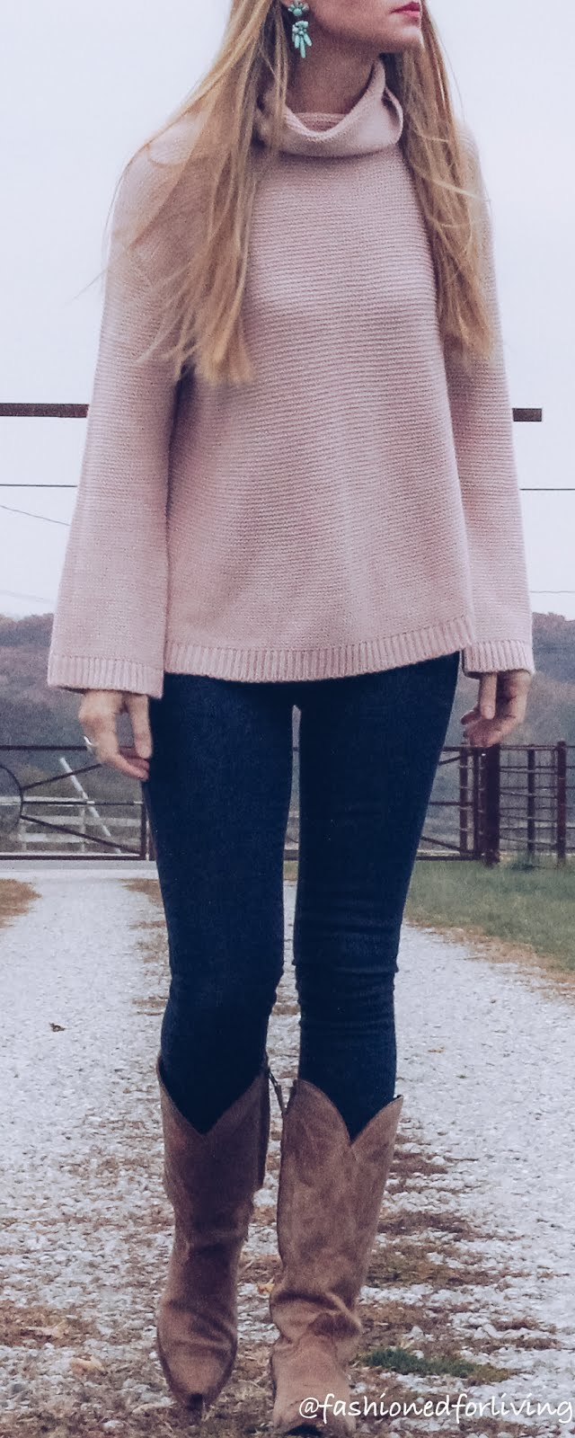 sweater and jeans outfit