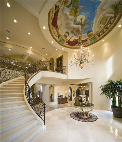 Mansion House Staircase Modern Home Minimalist Dezine