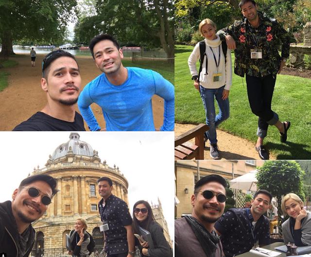 Kapamilya stars Piolo Pascual, Jodi Sta Maria, and Hayden Kho are abroad to study Christianity