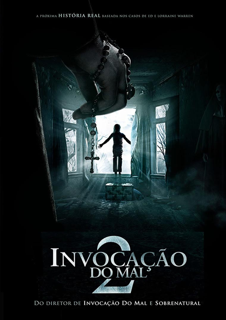 Invocação do Mal 2 Torrent – BluRay 720p e 1080p Dual Áudio (2016)