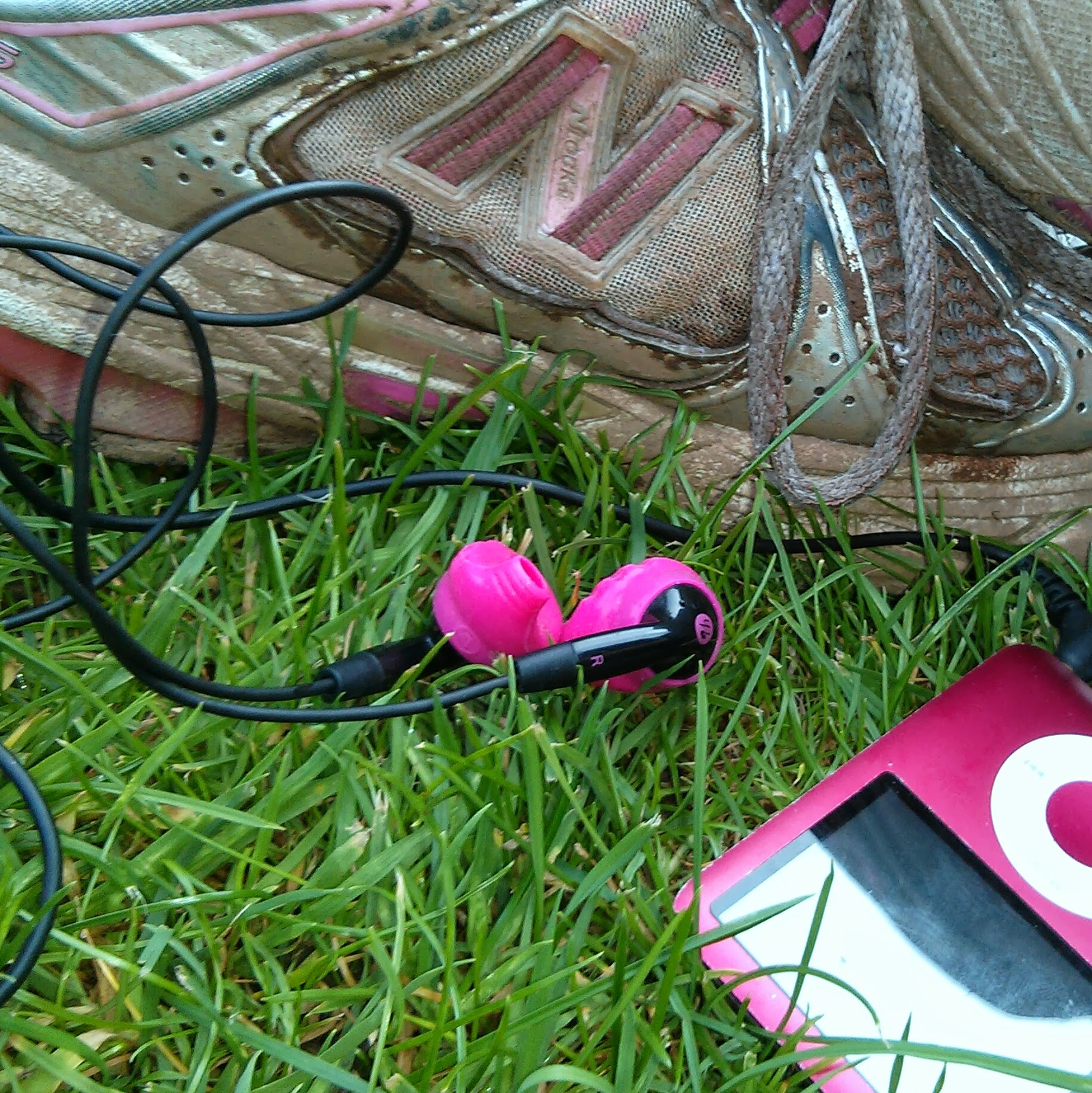 Plugged into my iPod and ready to go, Yurbuds