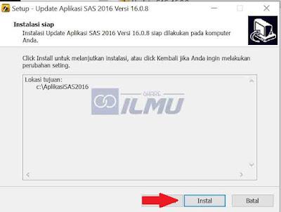 Cara Update Aplikasi SAS 2016