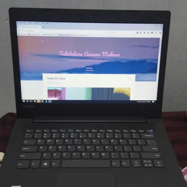 Akhirnya Beli Laptop Baru