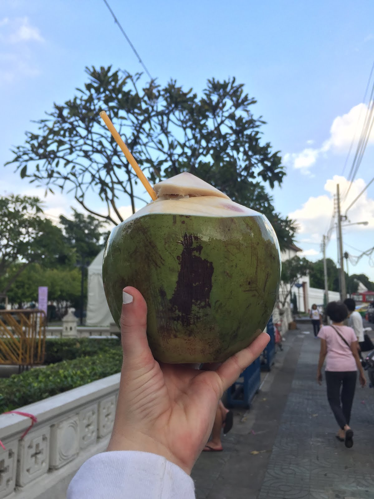 Coconut in Weekend Market, Thailand