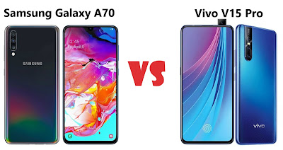 Samsung Galaxy A70 vs Vivo V15