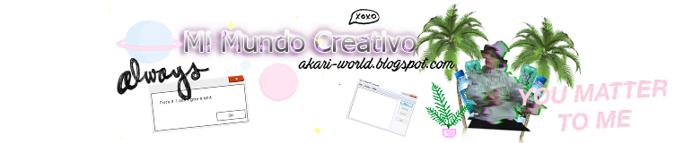 ˚✵.*⊹ Mi Mundo Creativo | Tutorials
