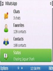 WhatsApp Messenger v2 3 18 for Java - group chat, push