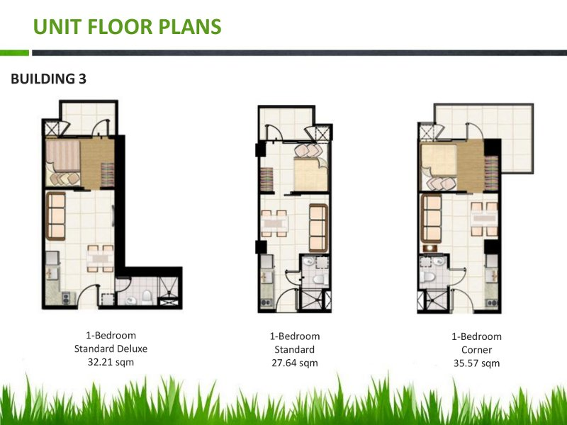 Field Residences Unit Floor Plan