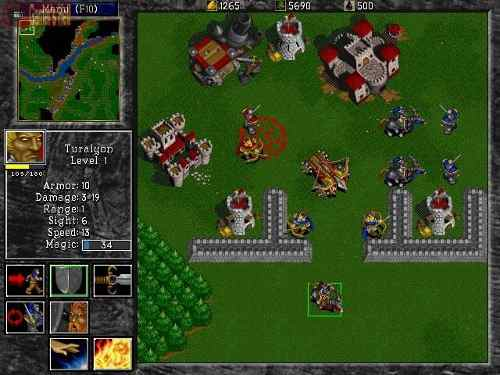Warcraft Ii The Dark Saga Psx Ntsc Espanol Multi 5 Mega