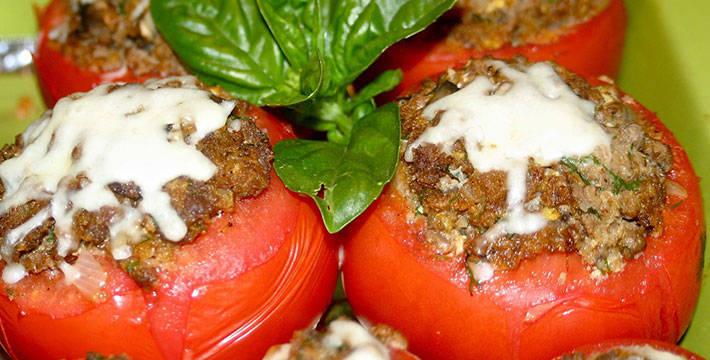 भरली टोमॅटो - पाककला | Bharli Tomato - Recipe