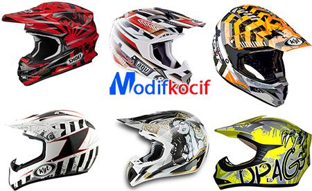 Gambar Harga Helm Motocross Trail