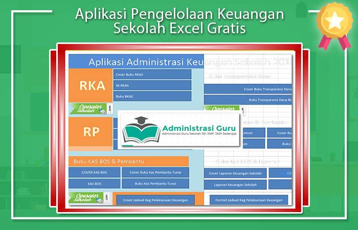 Aplikasi Keuangan Sekolah Excel Gratis