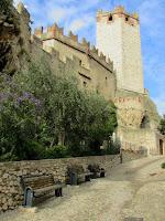Italia. Italy. Italie. Veneto. Malcesine. Lago di Garda. Castillo