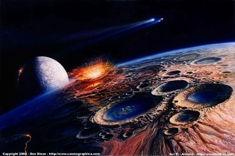 os cometas trouxeram a água pra Terra