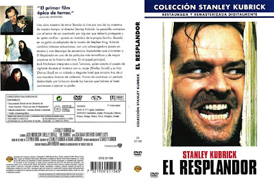 Cartula dvd: El resplandor (1980) The Shining