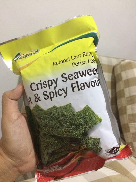 CRISPY HOT & SPICY SEAWEED GIANT