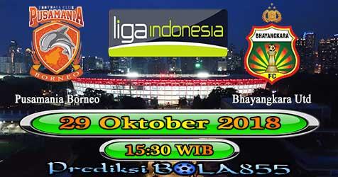 Prediksi Bola855 Pusamania Borneo vs Bhayangkara Utd 29 Oktober 2018