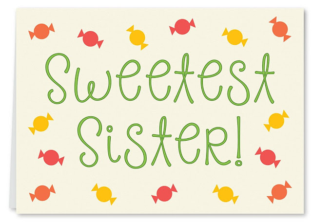 Happy raksha bandhan cards for sister