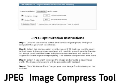 Free Tools for Compress Image