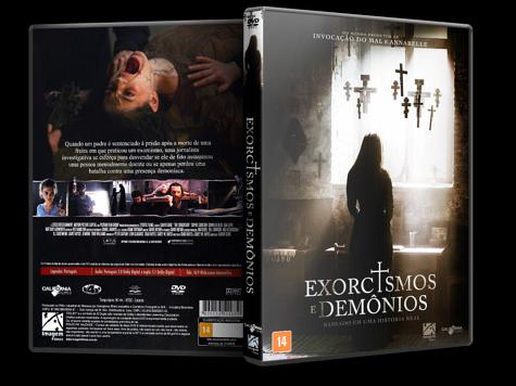 Capa DVD Exorcismos e Demônios