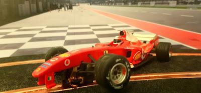 Ferrari F2004 Scalextric C1 F1 para piezas
