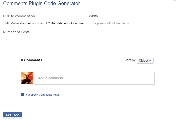 Add Facebook Comments Box to Individual Posts In Blogger